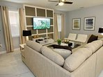 Beautiful and Comfortable Living Area w/Flat Screen TV, Cable & Free Wi-Fi