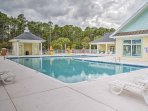 The condo is located in the Tupelo Bay Golf Villas, which offers a number of fantastic community amenities.