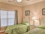 The children in your group will fall fast asleep in the third bedroom's twin beds.