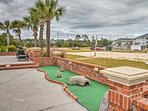 The whole family can enjoy a friendly round of putt-putt.