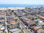 Aerial photo from Casa facing Pacific Ocean