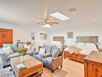 Four lucky travelers will enjoy the comfort of this spacious third bedroom.
