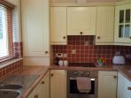 Fully equipped kitchen, ideal for self-catering.