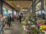 Atwater Market...very vibrant, great local produce and 10 minute walk from the house