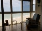Open the windows, listen to the waves and Relax