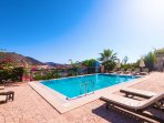 Second pool on the Emir development, also with wonderful open sea views