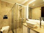 Stunning contemporary second bathroom