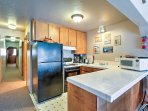 You'll find 2 fully equipped kitchens in the unit, allowing everyone to cook in comfort.