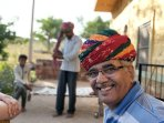 Guest in Rajasthan's Turban