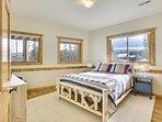 Guest Suite on lower level, Queen Mattress