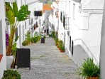 Andalucian white houses