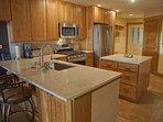 Granite Counters, New Cabinets & Appliances