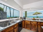 Dishes with a view!