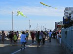 A trip to OC isn't complete w/out a trip to the Boardwalk.Enjoy Thrasher's fries or Fisher's popcorn