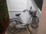 le vélo à disposition des locataires