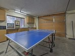 Get a game in on the ping pong or foosball table!