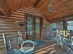 There is no better place to experience the beauty of Ozarks from than this wonderful abode.