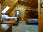 Oakridge Cabin Bedroom