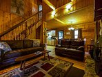 Oakridge Cabin Living Room
