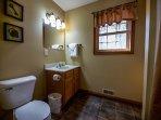 Coyote Cabin Bathroom