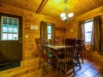 Oakridge Cabin Dining Room