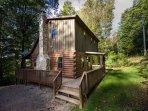 Oakridge Cabin Exterior Summer