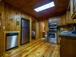 Oakridge Cabin Kitchen