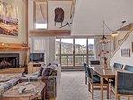 Living Room - Wide-open floor plan.