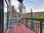 Back Deck - Enjoy sweeping views from your back deck.