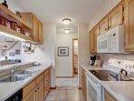 Kitchen - Galley-style kitchen.