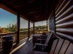 Big Sky Lodge Exterior Porch