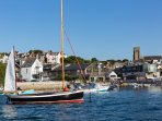 Visit the nearby town of Salcombe which is known for its waterside location