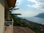 Lake Garda view from the balcony