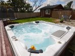 Relax in the Luxurious Hot Tub