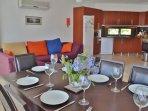 Ground floor kitchen diner