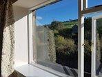 Stunning views from lounge window