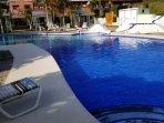 Villa on pool with Cabana