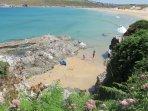 The SW Coastal Path at Polly Joke