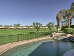 The backyard overlooks the La Quinta Resort's 9th hole, and offers easy access to public golf courses, restaurants...