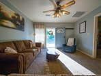 Mingle inside or just out the door on the front patio while the kids play in the spacious yard!