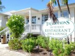 Lovely restaurant and lounge right on the property and a stone's throw away from your condo!