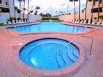 Ocean Sands hot tub.