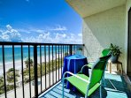 We invite you to come and enjoy the beautiful 5th floor water view of the Gulf of Mexico.