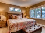 2nd Floor King Bedroom with Bath En Suite ...Enjoy Mountain Air and Rest in Luxury