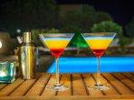 Poolside cocktails!