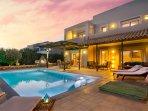 Sunset at Villa Lindos Blue!