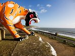 Isle of Wight Zoo is a short walk along the sea front, set within the remains of an historic fort.