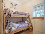 Second bedroom. 3/4 divan with single bunk top