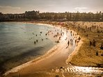 From the Northern Side of Coogee Beach. A short stroll to the beach from the Neval