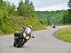 Great traffic free motorbiking roads